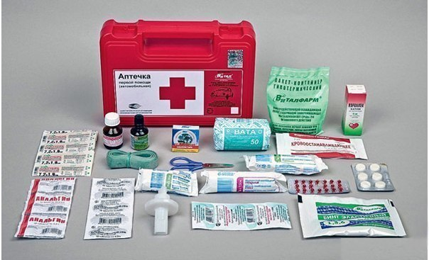 Автомобильная медицинская аптечка «Не навреди»