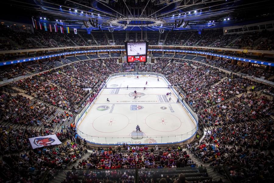 Большие стадионы КХЛ