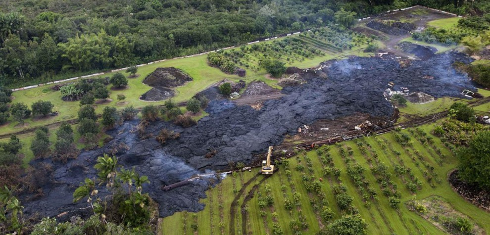 Извергается вулкан Килауэа на Гавайях