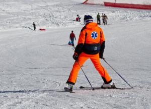 Как не получить травму при езде на лыжах