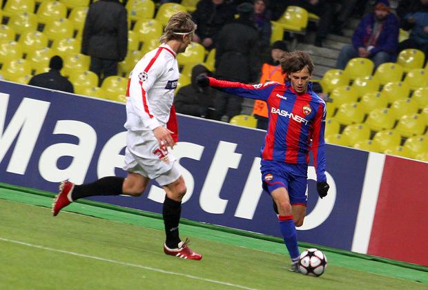 Новичок ЦСКА дает надежду на четвертьфинал Лиги Чемпионов