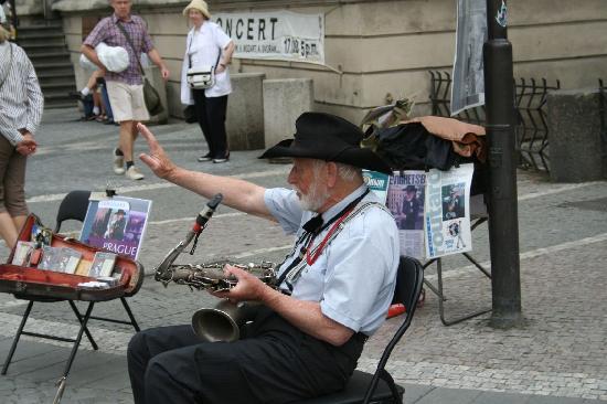 Пенсионеры Чехии