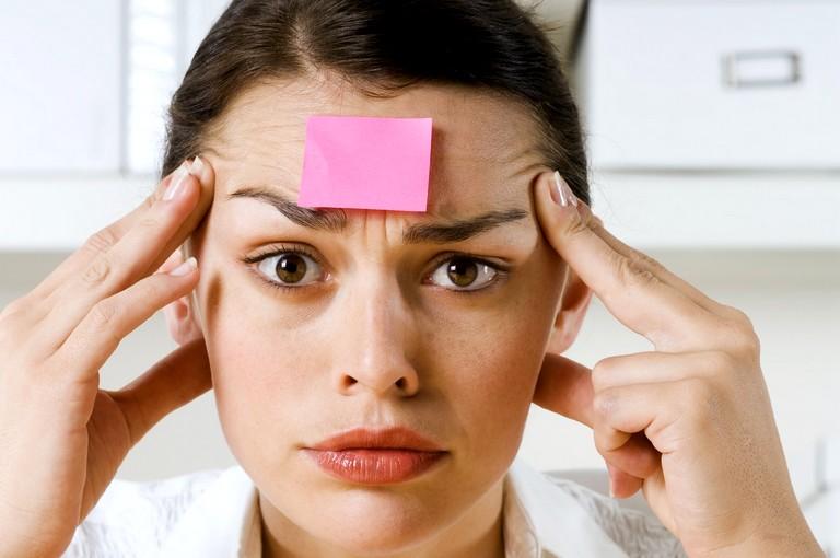 Причины нарушений памяти