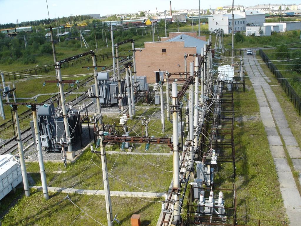 Сооружение электросетей