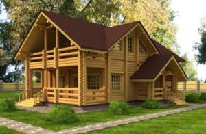 Бревенчатые дома для комфортного проживания