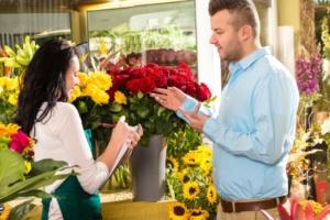Цветочные букеты с доставкой на дом