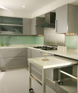 Как сделать вместительной небольшую кухню