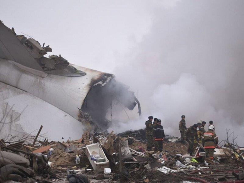 Появилась одна из причин крушения американского самолета в Кыргызстане