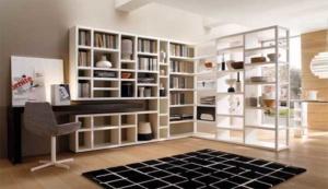 Использование стеллажей в современной квартире