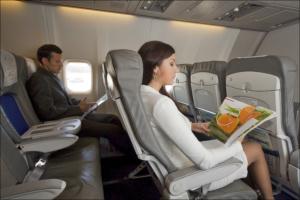 Как сделать полет комфортабельным