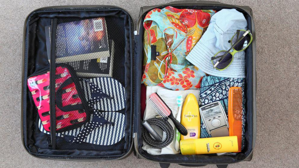 Собираем чемоданы в поездку