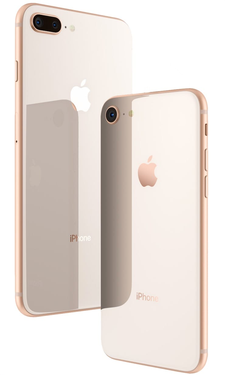 Дизайн iPhone 8 и iPhone 8 Plus